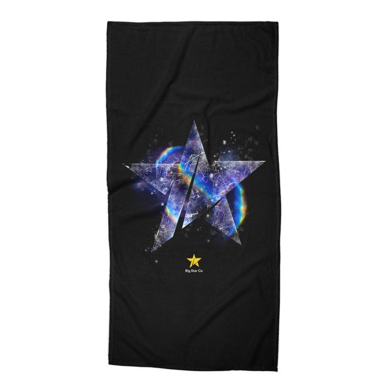 Big Star Prism Accessories Beach Towel by Lumi