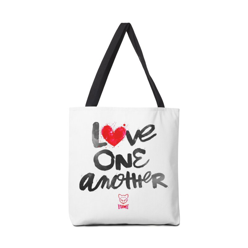Love One Another Accessories Bag by Lumi