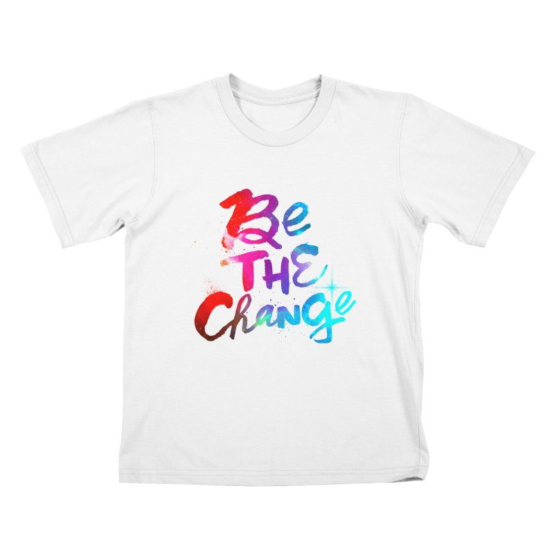 Be The Change Kids T-Shirt by Lumi