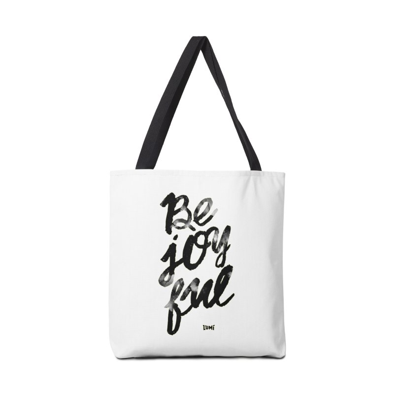 Be Joyful Accessories Bag by Lumi