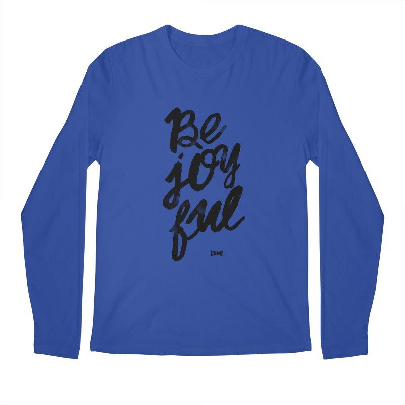 Be Joyful Men's Regular Longsleeve T-Shirt by Lumi