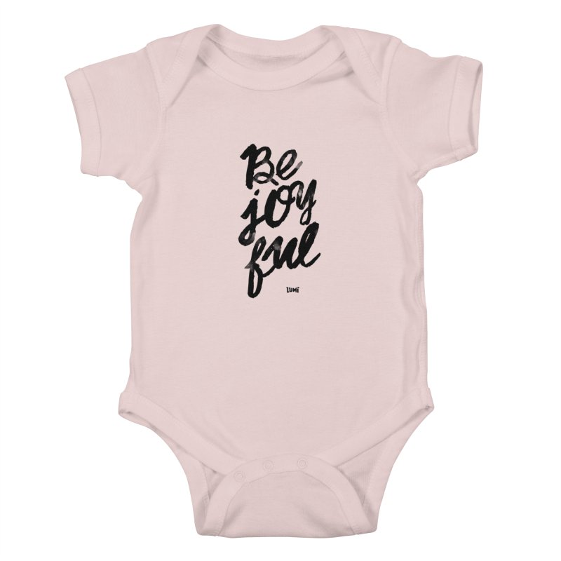 Be Joyful Kids Baby Bodysuit by Lumi