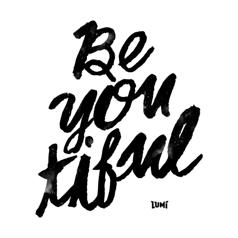 Be(You)Tiful Kids Longsleeve T-Shirt by Lumi