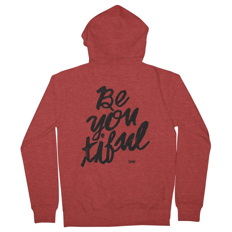 Be(You)Tiful Women's French Terry Zip-Up Hoody by Lumi
