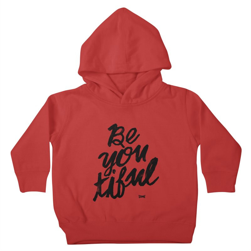 Be(You)Tiful Kids Toddler Pullover Hoody by Lumi