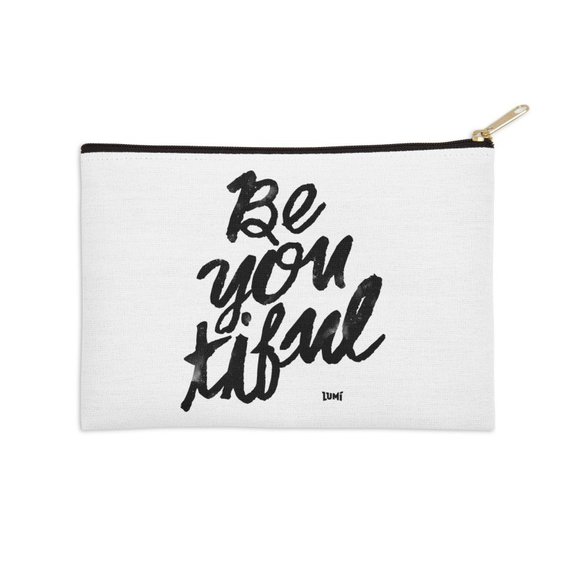 Be(You)Tiful Accessories Zip Pouch by Lumi