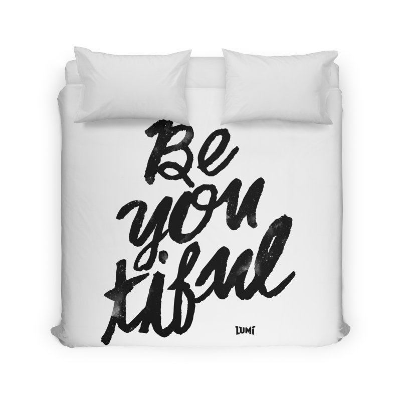 Be(You)Tiful Home Duvet by Lumi
