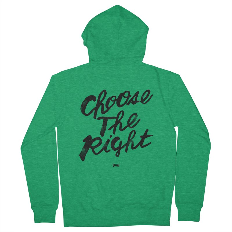 Choose The Right (CTR) Women's Zip-Up Hoody by Lumi