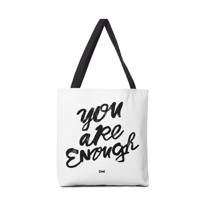 You Are Enough Accessories Bag by Lumi