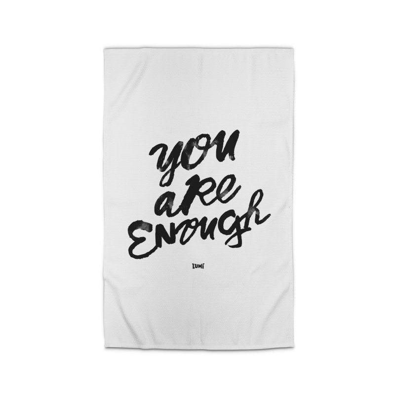 You Are Enough Home Rug by Lumi