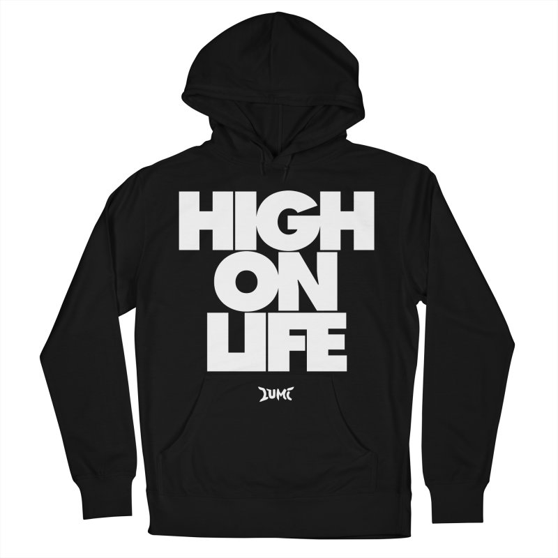 High On Life Women's French Terry Pullover Hoody by Lumi