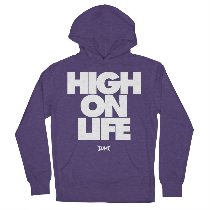 High On Life Men's French Terry Pullover Hoody by Lumi