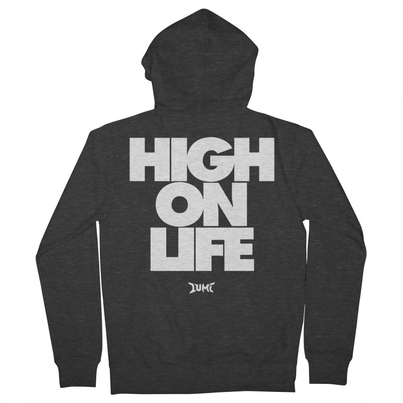 High On Life Women's Zip-Up Hoody by Lumi
