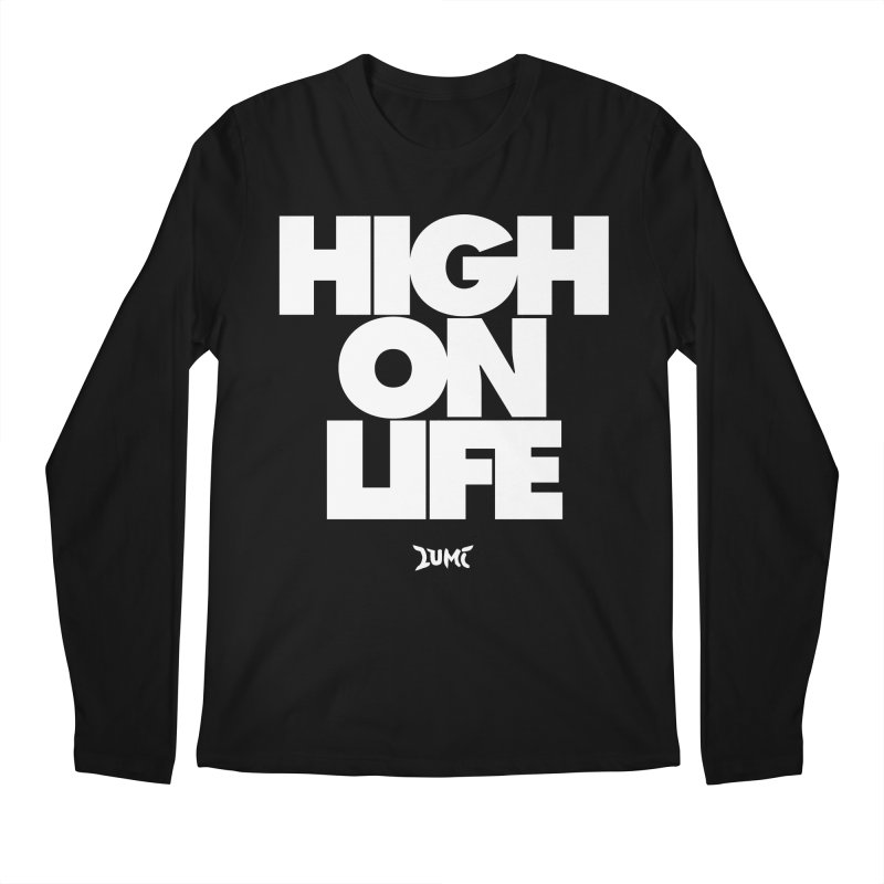 High On Life Men's Regular Longsleeve T-Shirt by Lumi
