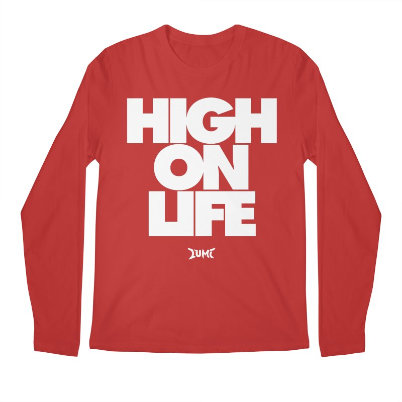 High On Life Men's Regular Longsleeve T-Shirt by Lumi