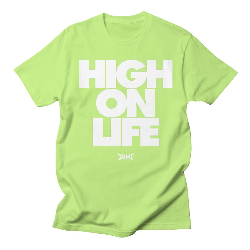 High On Life Men's Regular T-Shirt by Lumi