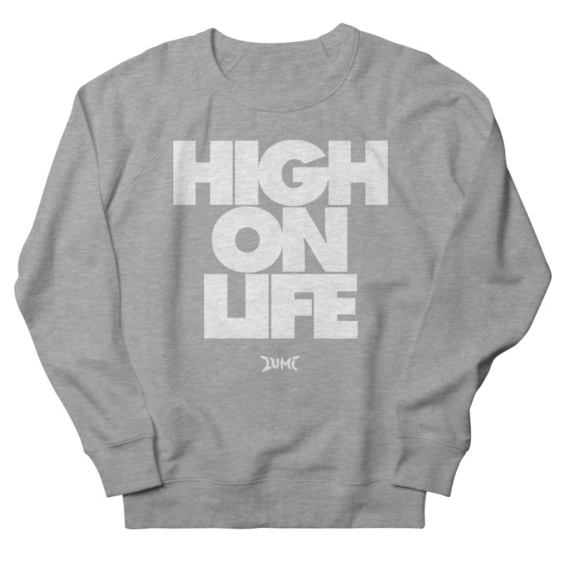 High On Life Men's French Terry Sweatshirt by Lumi