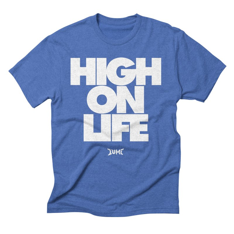 High On Life Men's Triblend T-Shirt by Lumi
