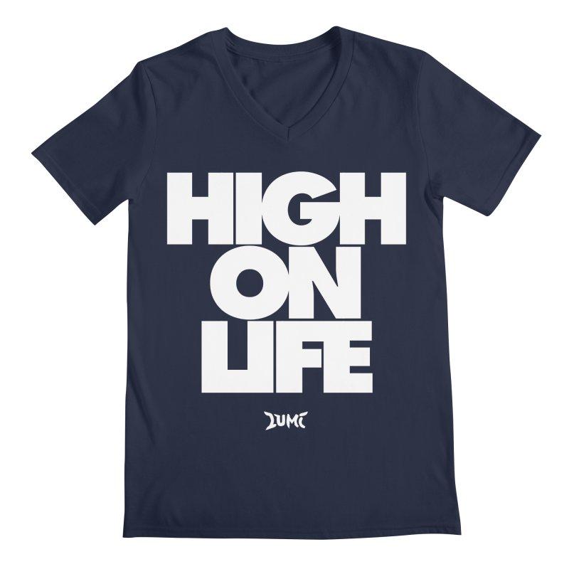 High On Life Men's V-Neck by Lumi