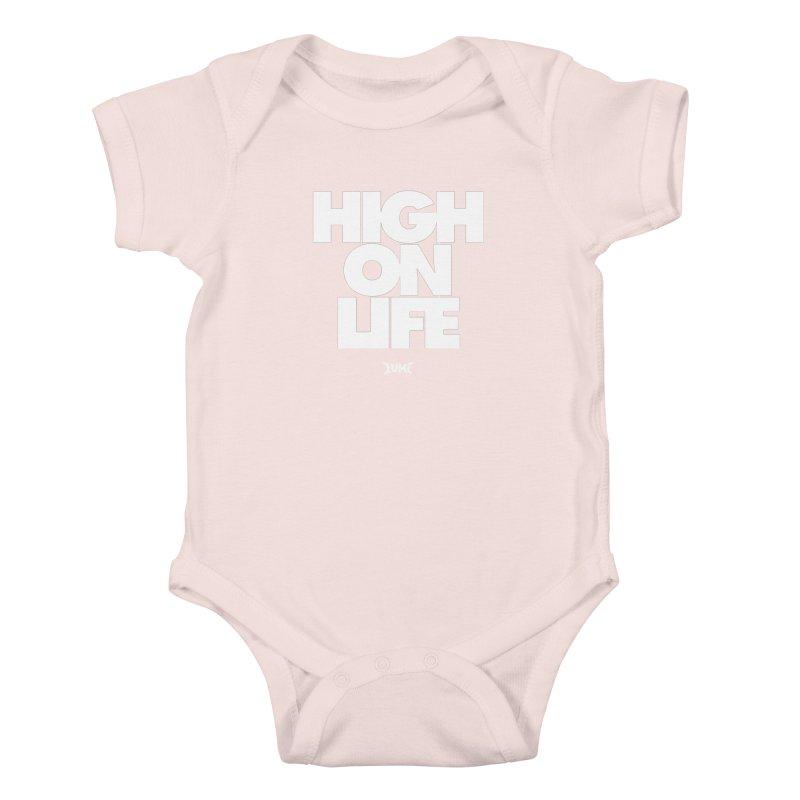 High On Life Kids Baby Bodysuit by Lumi