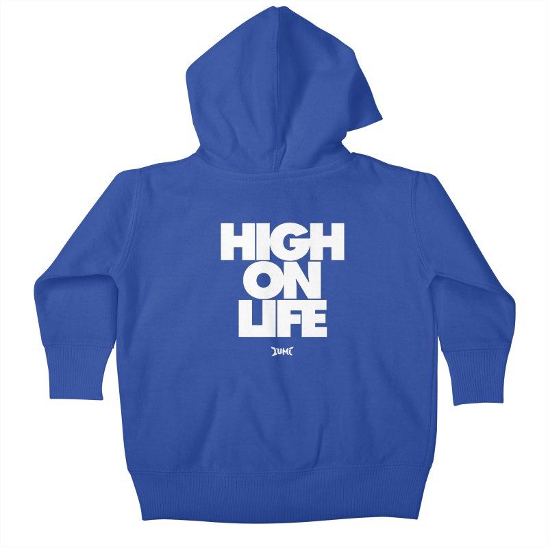 High On Life Kids Baby Zip-Up Hoody by Lumi