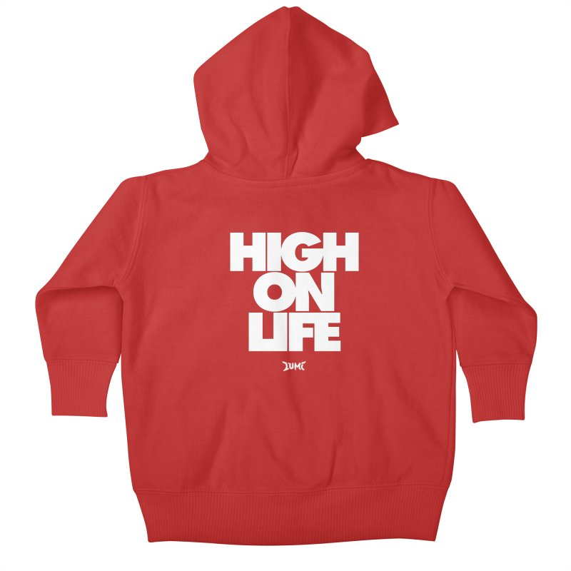 High On Life Kids Baby Zip-Up Hoody by Lumi