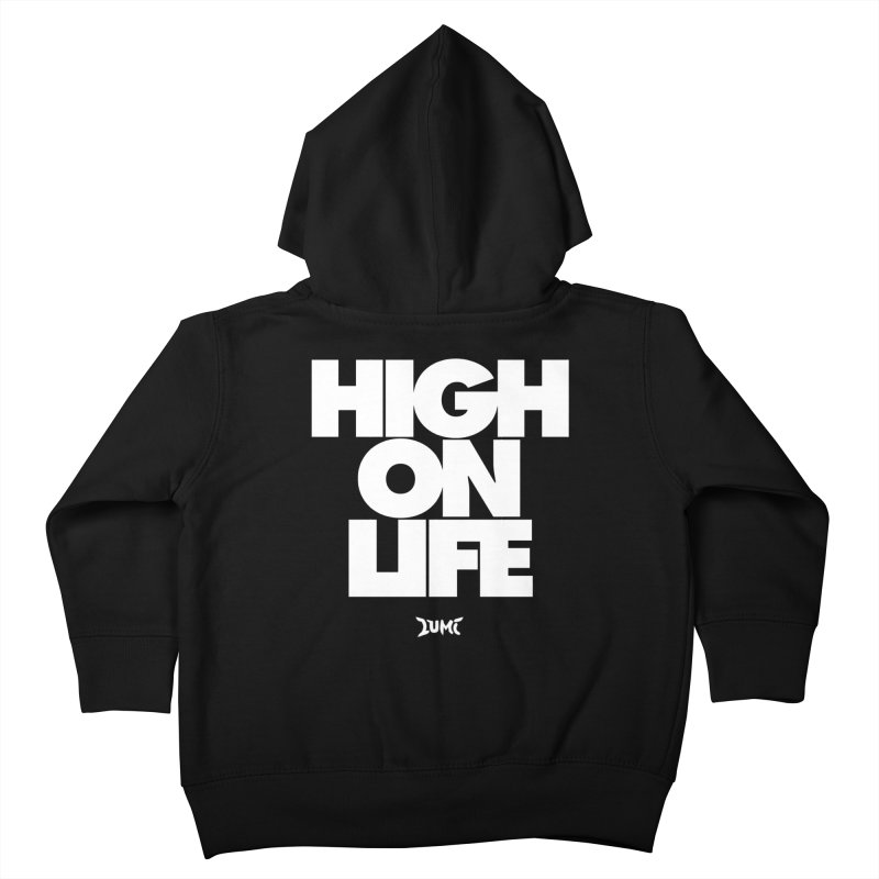 High On Life Kids Toddler Zip-Up Hoody by Lumi