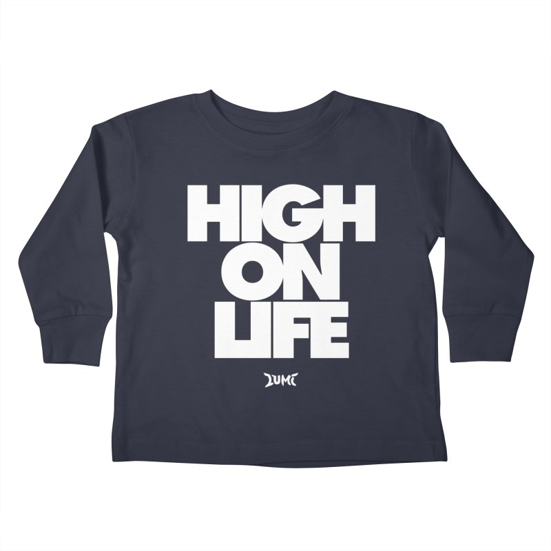 High On Life Kids Toddler Longsleeve T-Shirt by Lumi