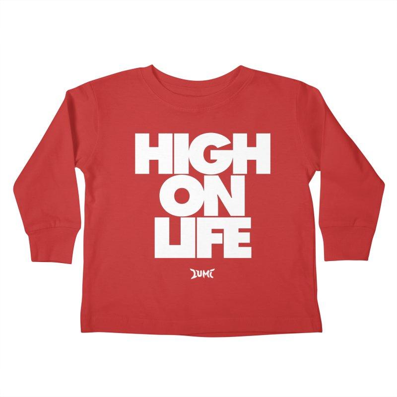 High On Life Kids Toddler Longsleeve T-Shirt by Lumi