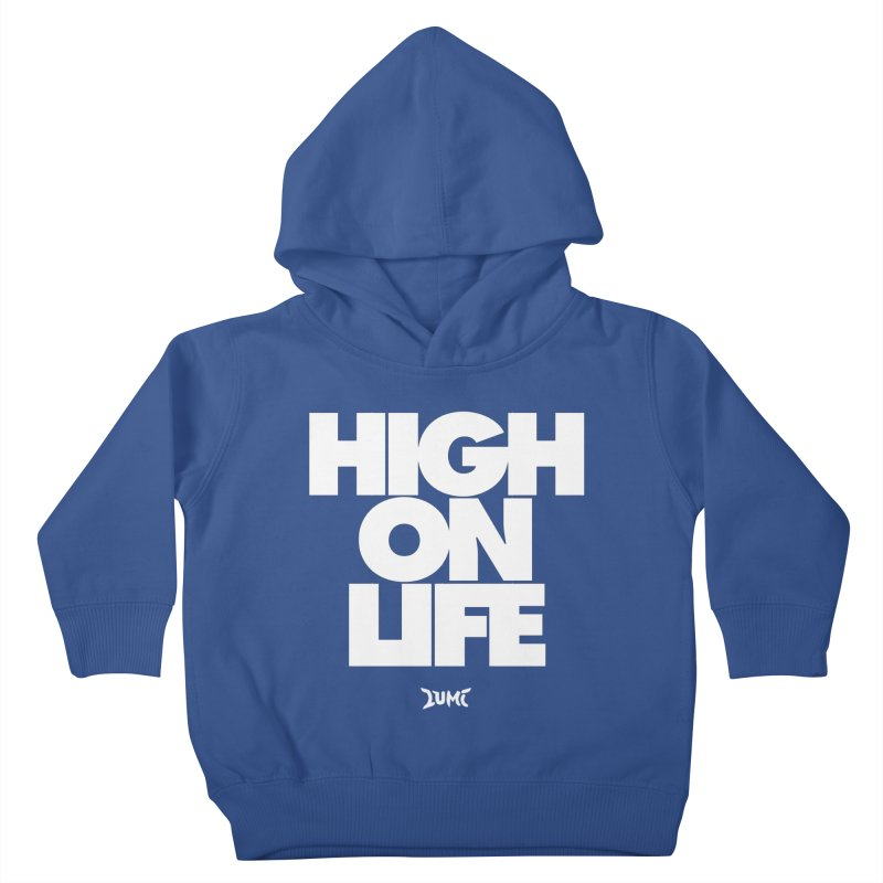 High On Life Kids Toddler Pullover Hoody by Lumi