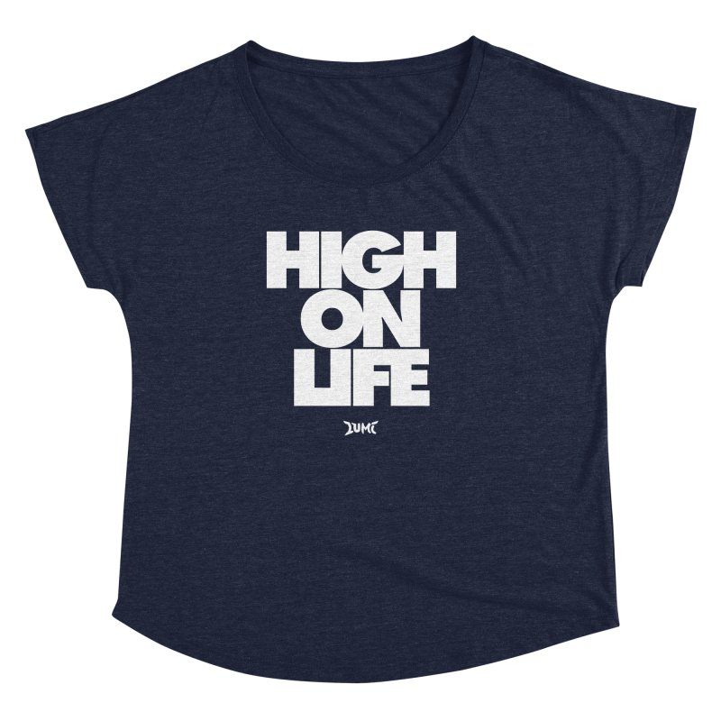 High On Life Women's Dolman Scoop Neck by Lumi
