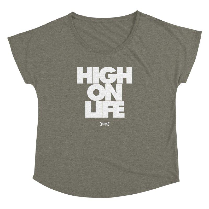 High On Life Women's Dolman by Lumi