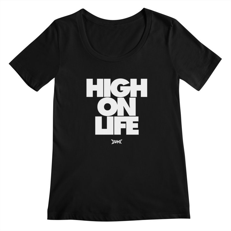 High On Life Women's Scoopneck by Lumi