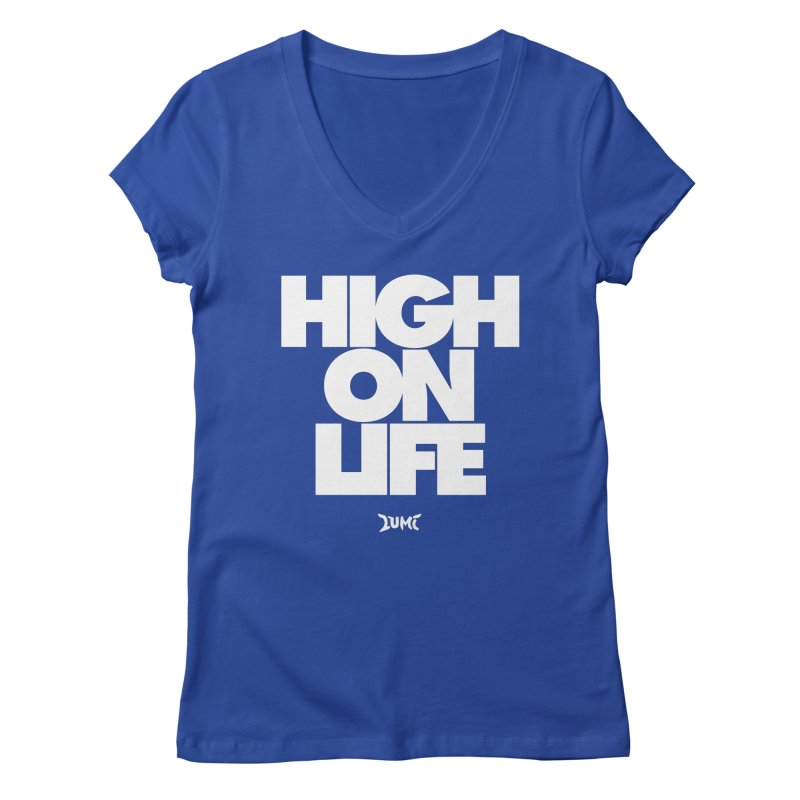 High On Life Women's V-Neck by Lumi