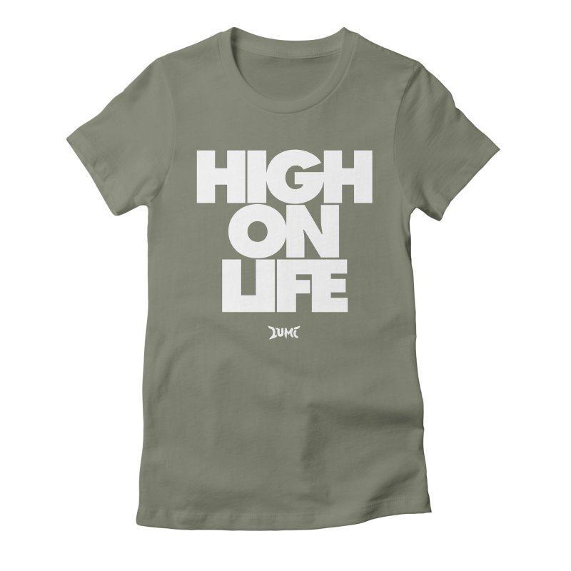 High On Life Women's Fitted T-Shirt by Lumi