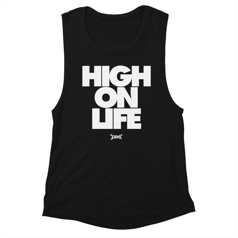 High On Life Women's Tank by Lumi