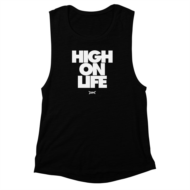 High On Life Women's Muscle Tank by Lumi