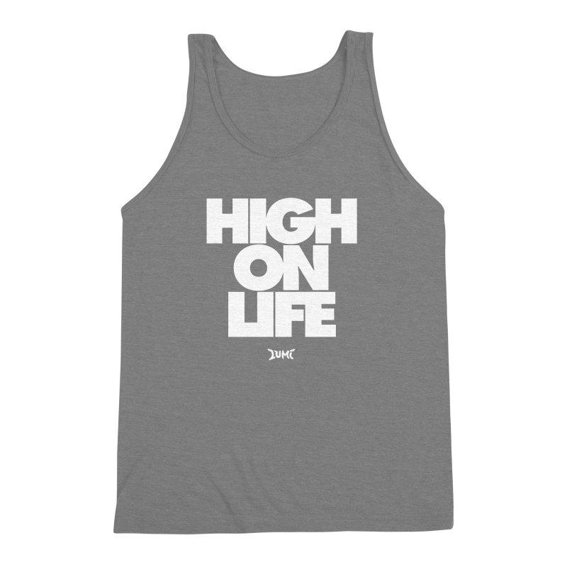 High On Life Men's Triblend Tank by Lumi