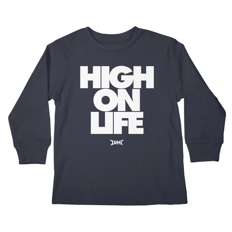 High On Life Kids Longsleeve T-Shirt by Lumi