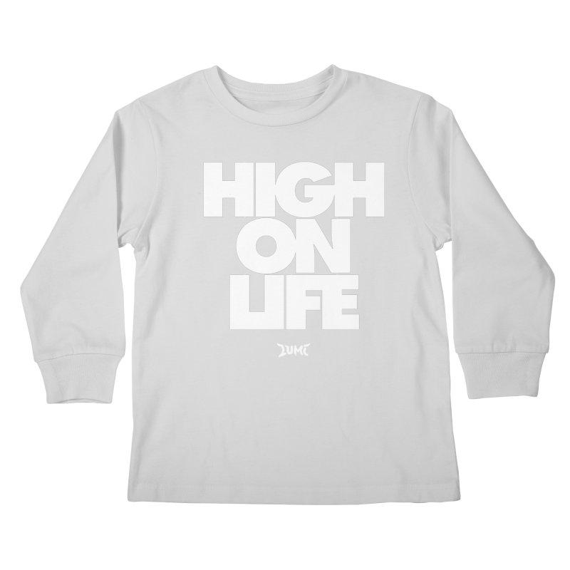 High On Life Kids Longsleeve T-Shirt by Lumi