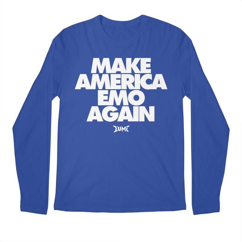 Make America Emo Again Men's Longsleeve T-Shirt by Lumi