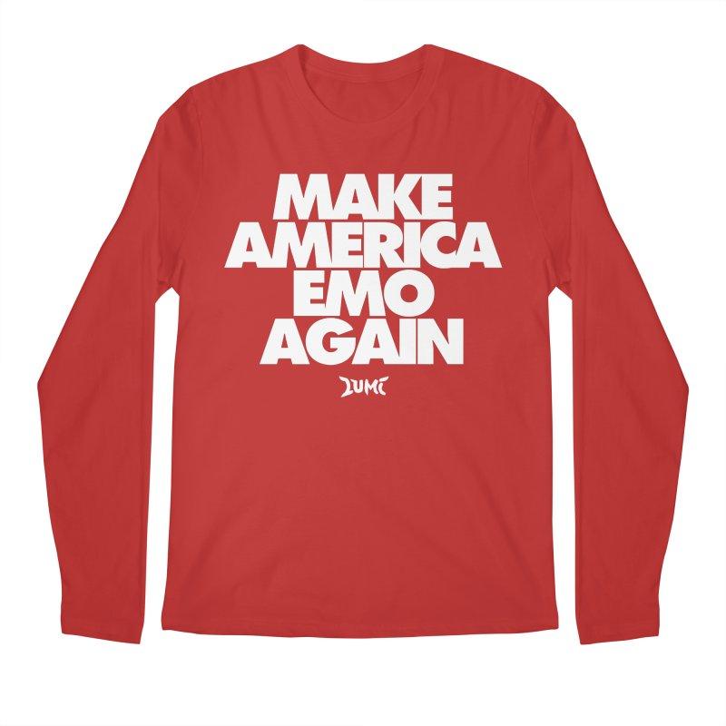 Make America Emo Again Men's Regular Longsleeve T-Shirt by Lumi