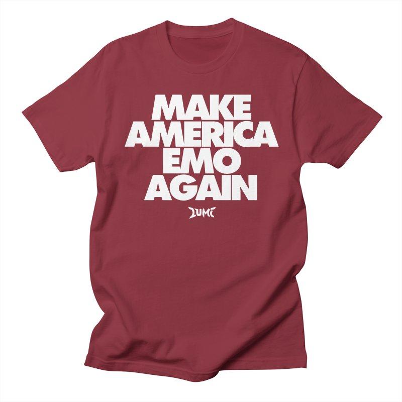 Make America Emo Again Men's Regular T-Shirt by Lumi