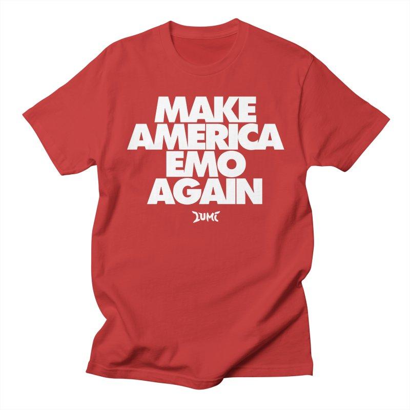 Make America Emo Again Women's Regular Unisex T-Shirt by Lumi