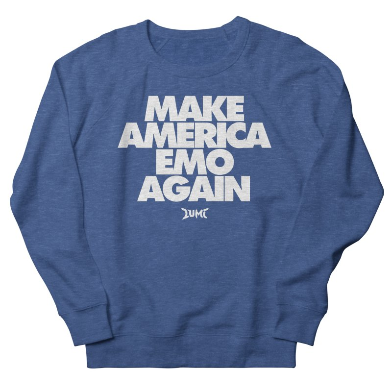 Make America Emo Again Women's French Terry Sweatshirt by Lumi