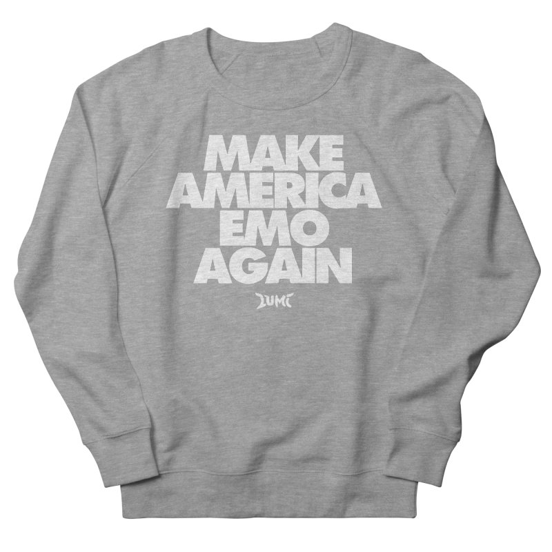 Make America Emo Again Men's French Terry Sweatshirt by Lumi