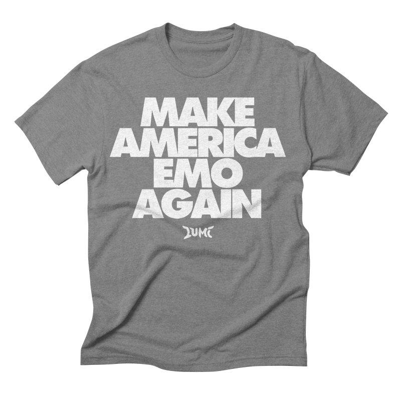 Make America Emo Again Men's Triblend T-shirt by Lumi