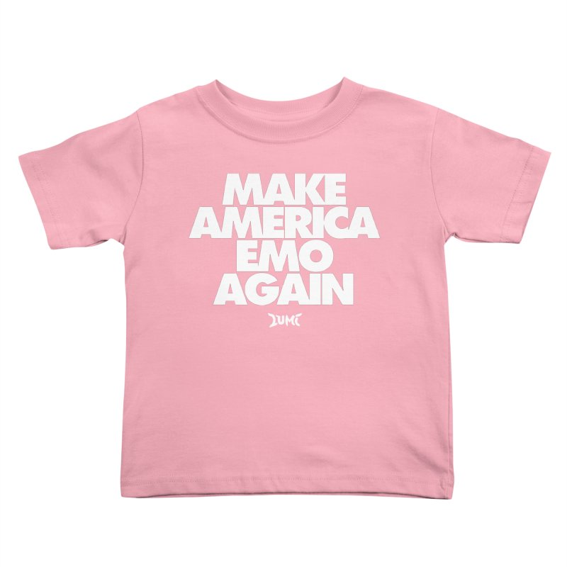 Make America Emo Again Kids Toddler T-Shirt by Lumi