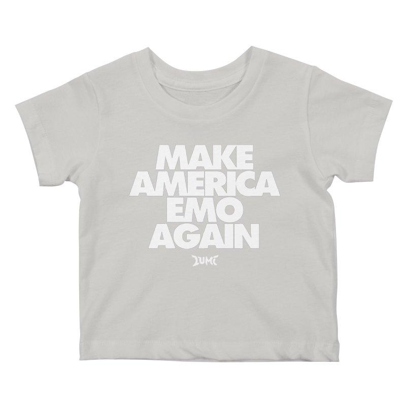 Make America Emo Again Kids Baby T-Shirt by Lumi