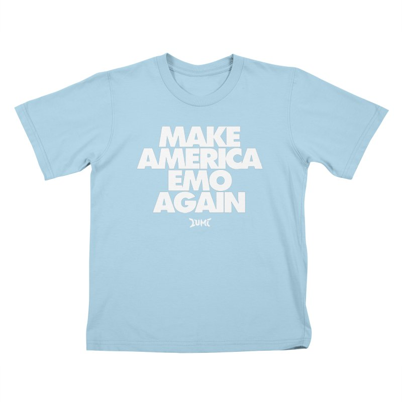 Make America Emo Again Kids T-Shirt by Lumi
